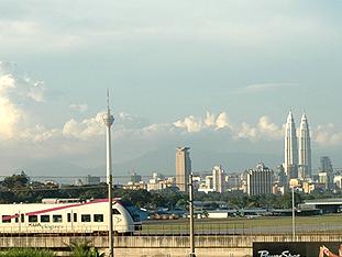 VOLK Diesel-Plattformwagen in Malaysia