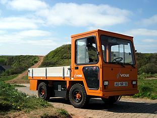 VOLK Electric Trucks on the island of Helgoland