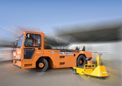 Loading equipment – Platform trucks for small, medium and large loads