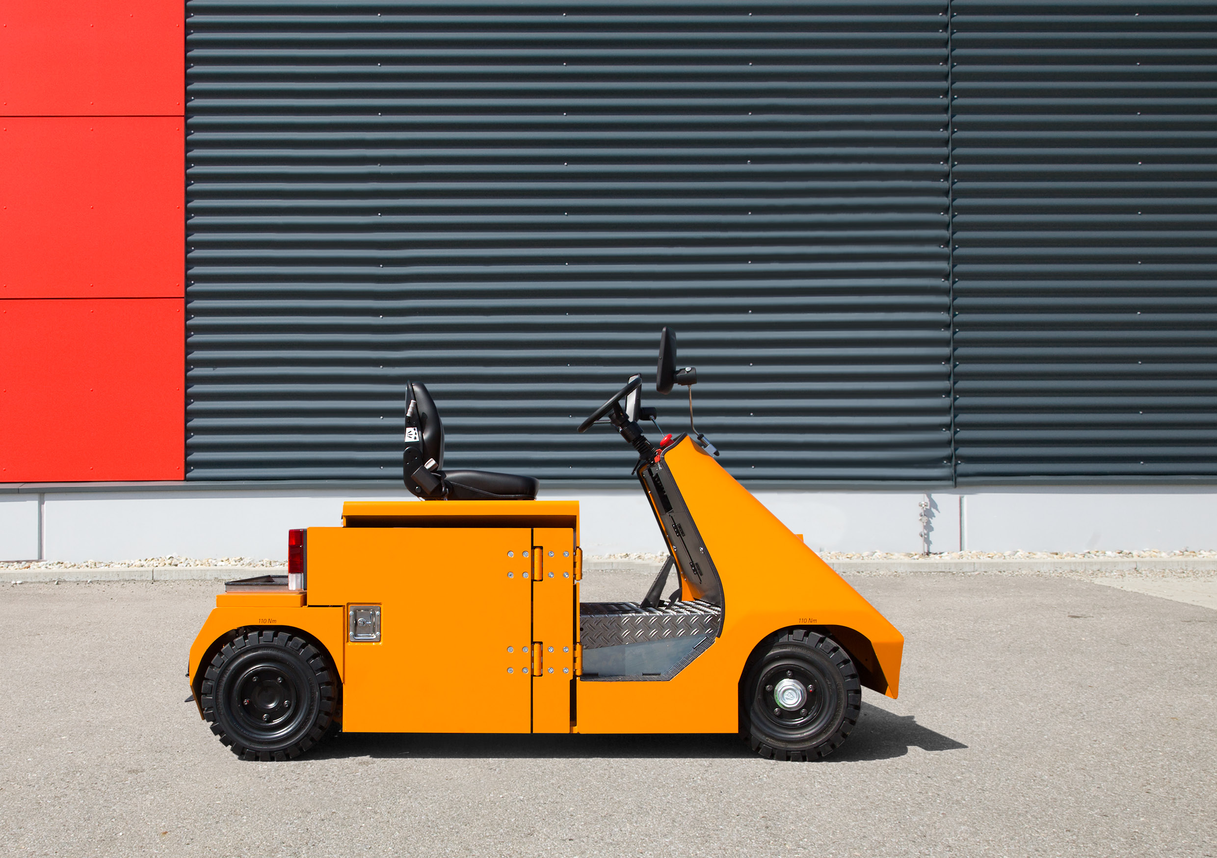 VOLK Electric tow tractor EFZ 8 K