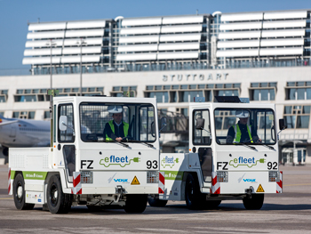 efleet – green electric drives in baggage and cargo handling
