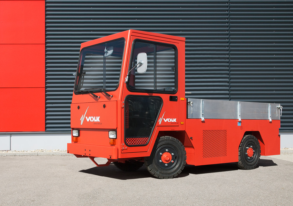 VOLK Diesel platform truck DFW 4