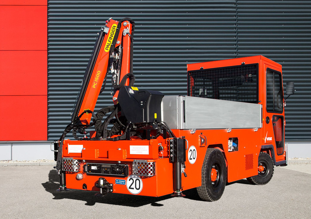 VOLK Diesel platform truck DFW 5