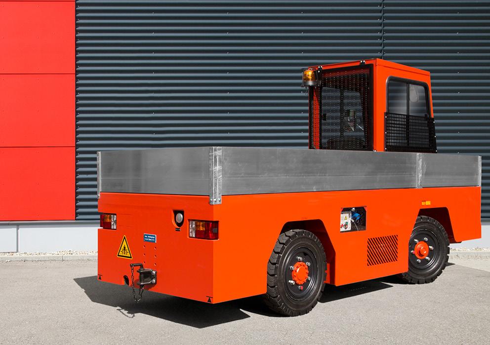 VOLK LPG platform truck TFW 2