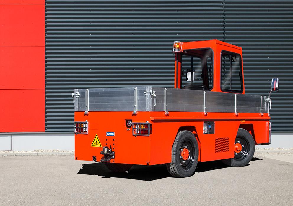 VOLK LPG platform truck TFW 5