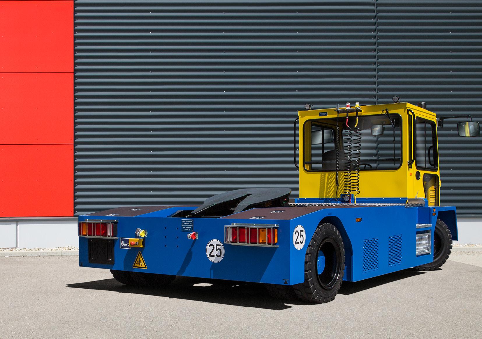VOLK Electric semitrailer tractor EFZ 40 SK