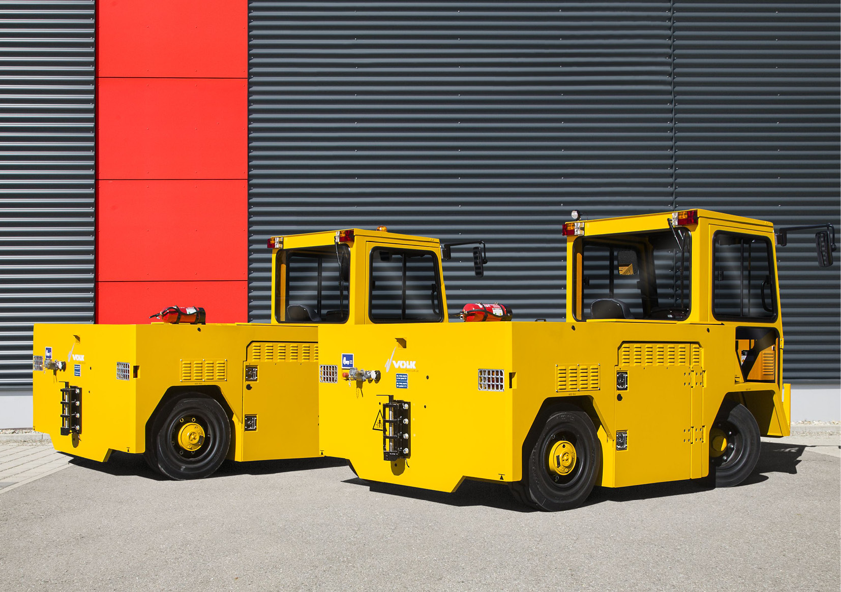 VOLK Electric tow tractor EFZ 100N