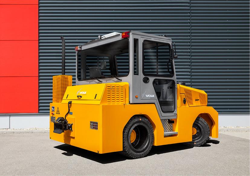 VOLK Diesel tow tractor DFZ 150H