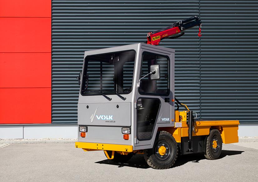 VOLK Electric platform truck EFW 4