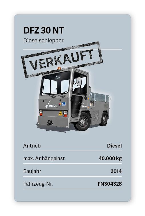 VOLK Dieselschlepper DFZ 30 NT Gebraucht