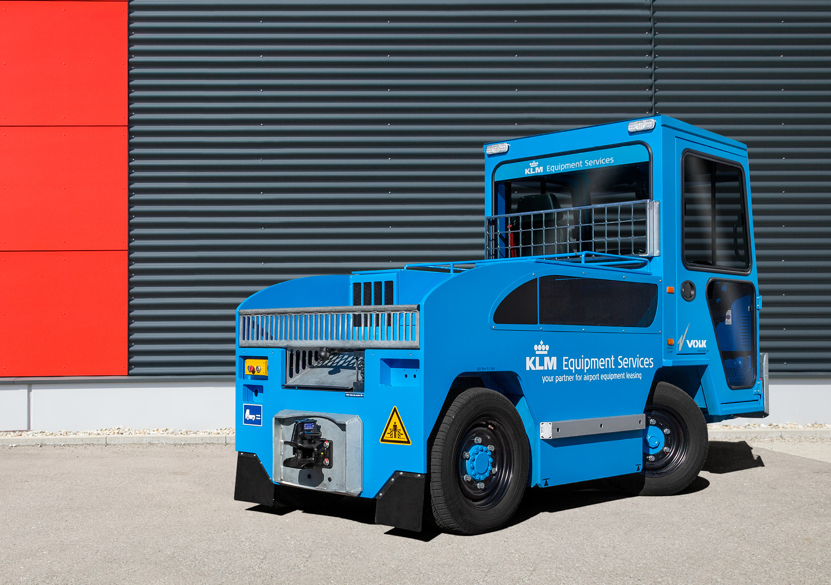 VOLK Electric tow tractor EFZ 25N
