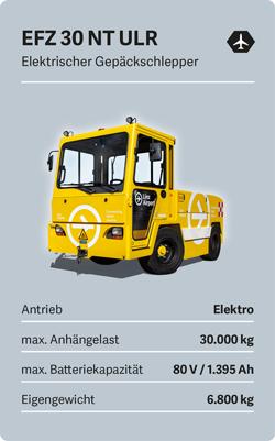 VOLK Elektro-Gepaeckschlepper EFZ 30 NT Ultra Long Range