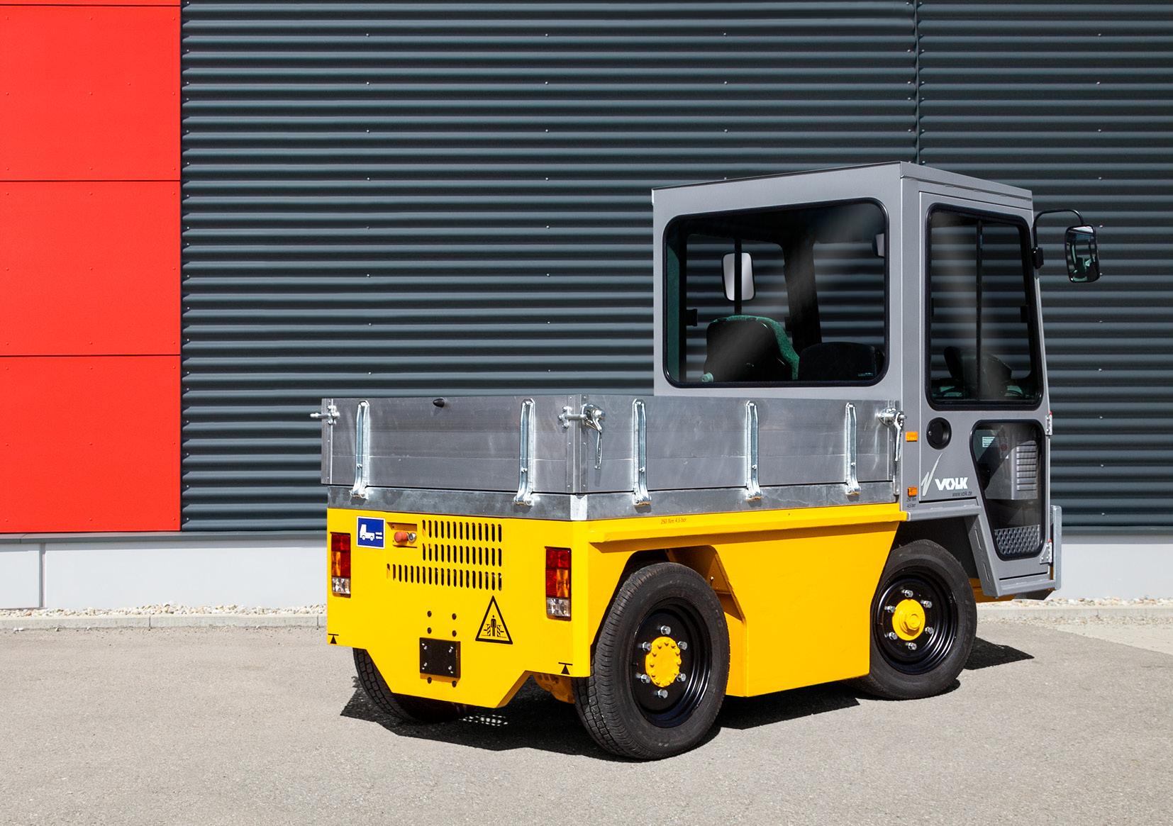 VOLK Electric Platform Truck EFW 2 Used