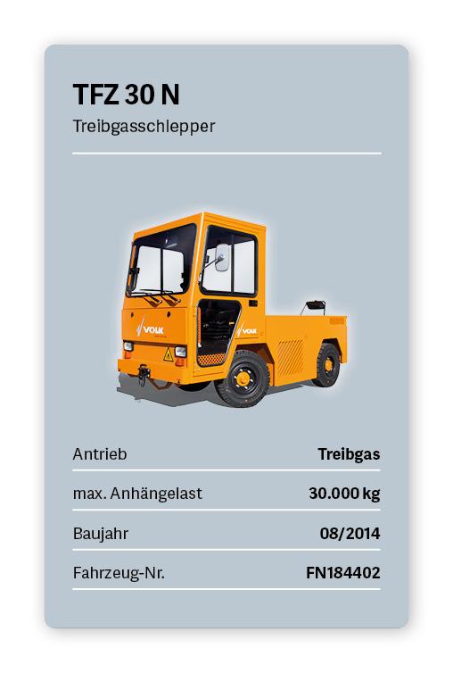 VOLK Treibgasschlepper TFZ 30N Gebraucht