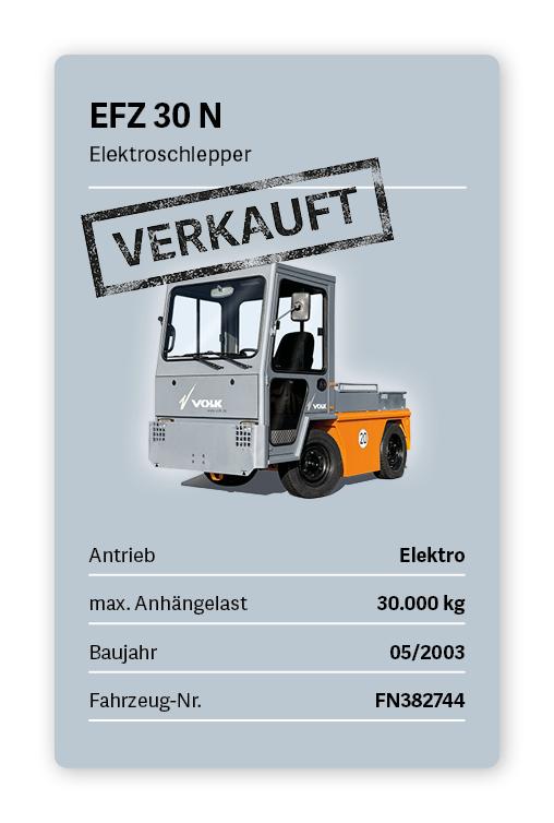VOLK Elektroschlepper EFZ 30 N Gebraucht