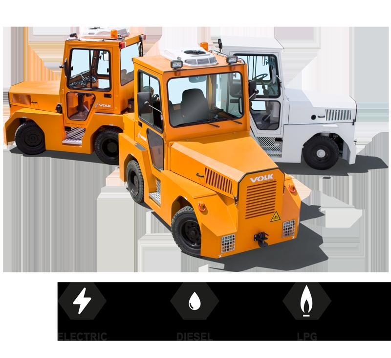 VOLK Tow tractors